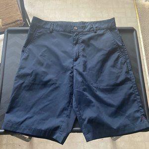 Calvin Klein Navy Stretch Shorts Size 31 EUC Gucci